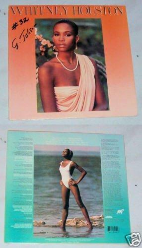 Whitney Houston Music Record Album LP 33
