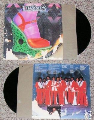 The Trammps Disco Inferno Music Record Album LP 33