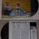 The King And I Original Cast Album Music Record LP 33