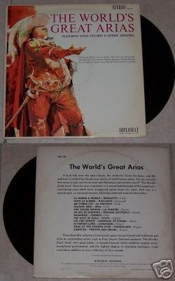 The Worlds Great Arias Enzo Stuarti Music Album LP 33