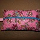 Quilted Zipper Tissue Holder