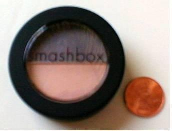 SMASHBOX EYE SHADOW DUO Smashing Jet Set Peach Gray