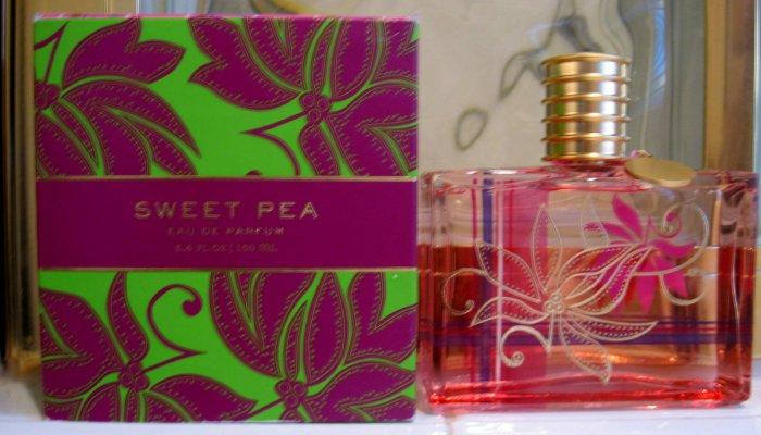 Bath Body Works SWEET PEA edt PERFUME SPRAY Limited Ed.
