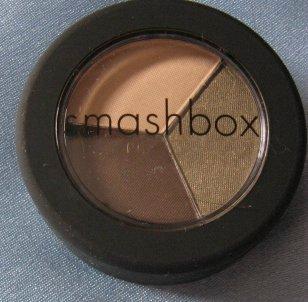 SMASHBOX Eye Shadow Trio TREND SHOW Ivory Green Brown