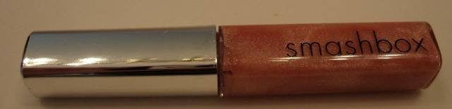 SMASHBOX Lip Gloss GLIDE Shimmery Peach FULL SIZE *NEW*