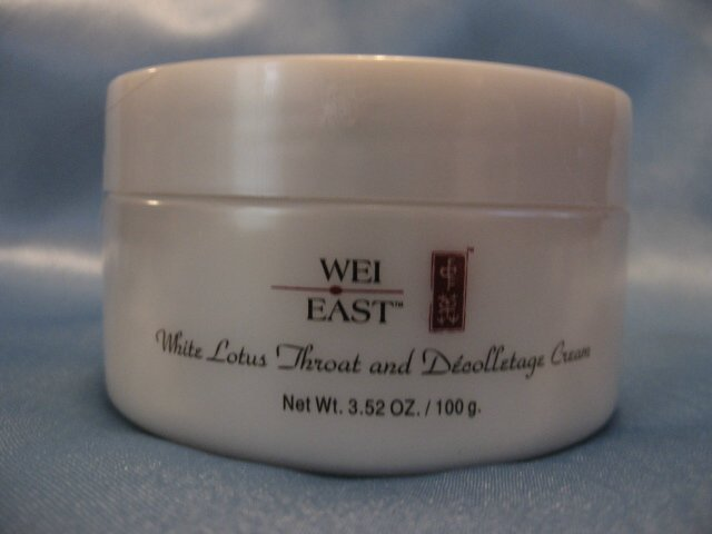 WEI EAST White Lotus Throat and Decolletage Cream HUGE!