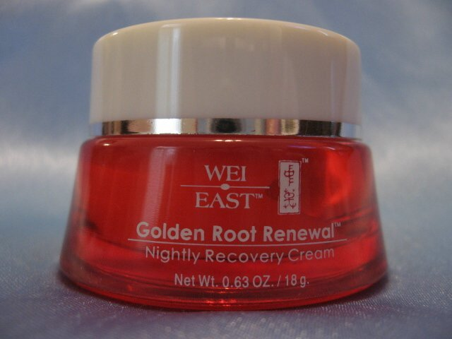 WEI EAST Golden Root Renewal NIGHTLY RECOVERY CREAM .63