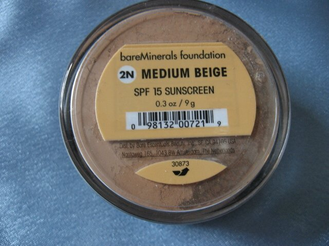 Bare Escentuals Minerals MEDIUM BEIGE W/SIFTER 9g XL