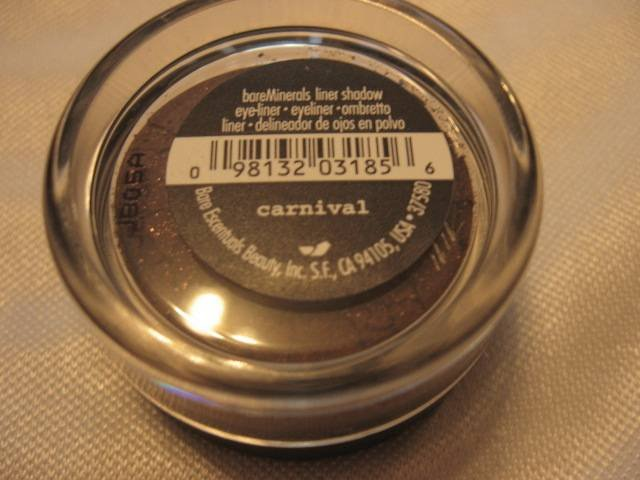 Bare Escentuals Minerals Eye Shadow Liner in CARNIVAL