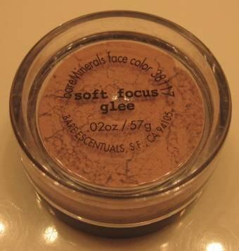 Bare Escentuals Minerals SOFT FOCUS GLEE FACE COLOR .57