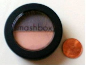 SMASHBOX EYE SHADOW DUO Smashing Jet Set Peach Gray