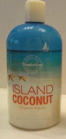 Bath & Body Works ISLAND COCONUT Wash Shampoo Gel