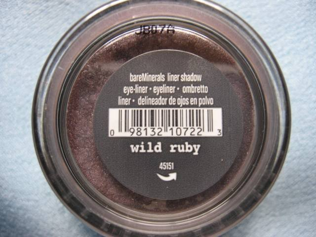 Bare Escentuals Minerals EYE LINER SHADOW WILD RUBY NEW