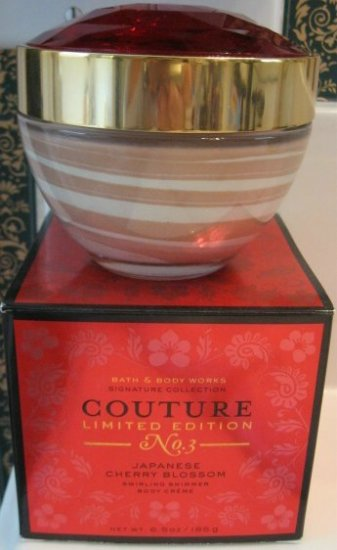 Bath & Body Works JAPANESE CHERRY BLOSSOM Couture Cream