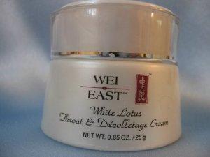 WEI EAST White Lotus Throat and Decolletage Cream 0.85 oz