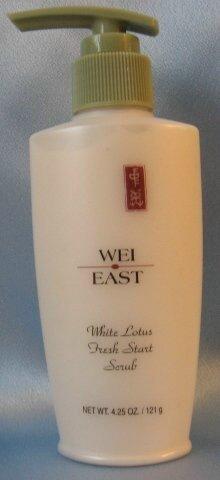 WEI EAST WHITE LOTUS Fresh Start Scrub BIG 4.25 OZ !