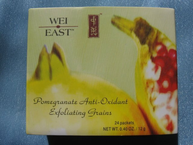 WEI EAST Pomegranate Antioxidant Exfoliating Grains 24