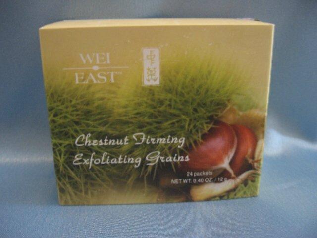 WEI EAST Chestnut Firming Exfoliating Grains 24 Packs