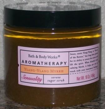 Bath and Body Works Ylang Ylang Myrrh Sugar Scrub DISCONTINUED AND RARE!!