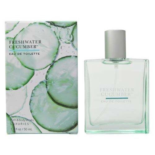 Bath & Body Works Luxuries Freshwater Cucumber Eau De Toilette 1.7 fl oz