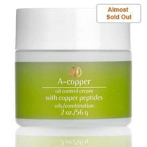 Serious Skin Care A-Copper Oil Control Cream with Copper Peptides