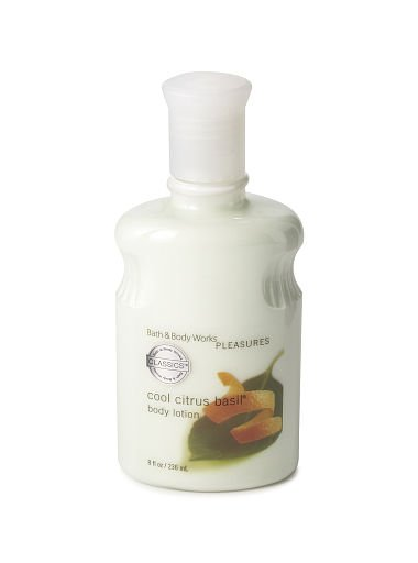 Bath & Body Works Signature Collection Cool Citrus Basil Body Lotion