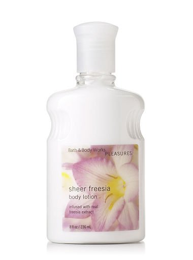 Bath & Body Works Signature Collection Sheer Freesia Body Lotion