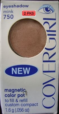2PK Cover Girl Eye Shadow Mink #750