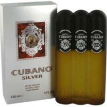 Cubano Silver by Cubano for Men EDT Spray 4.0 oz