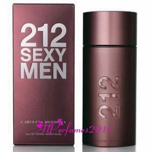 212 Sexy by Carolina Herrera for Men EDT Spray 3.4 oz