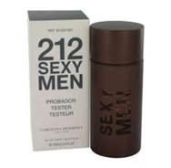 212 Sexy by Carolina Herrera TESTER for Men EDT Spray 3.4 oz