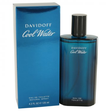 Cool Water by Davidoff for Men EDT Spray 4.2 oz
