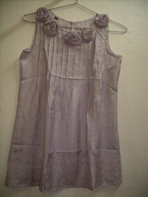 Light grey silk shirt