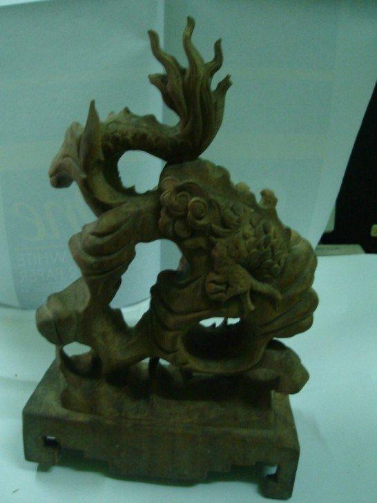 Nacrine wood dragon