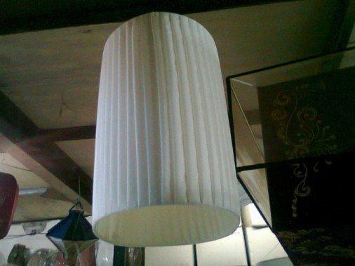 Pleated lamp