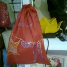 Lingerie bag in cotton