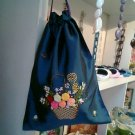 Lingerie bag in taffeta