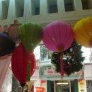 Silk lantern with 55cm dimension (oval shape)