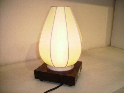 White silk lamp