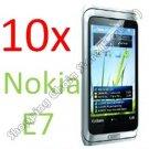 10pcs Clear Screen Film Cover Protector Guard film for Nokia E7