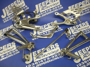 03-05 YAMAHA R6 REAR SETS