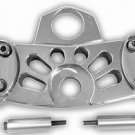 KAWASAKI ZX-14 (06-07) POLISHED TRIPLE TREE CLAMPART # A3280)