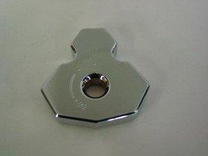 '08 Hayabusa Chrome Ignition Cap With Logo
