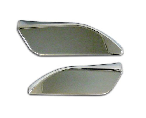 CHROME HAYABUSA TANK PADS (99-07) ENGRAVED