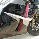 '99-'07 Suzuki Hayabusa Black Powder Coated Fairing Screens 9 Piece Set 061307-008PC