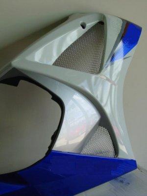 2007-2008 Suzuki GSXR 1000 Chrome Fairing Screens