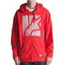 Alpinstar linear red XL zip up hoodie