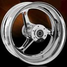 RC Components Rear Chrome 17 X 12 330 Stocker One-Piece Forged Wheel