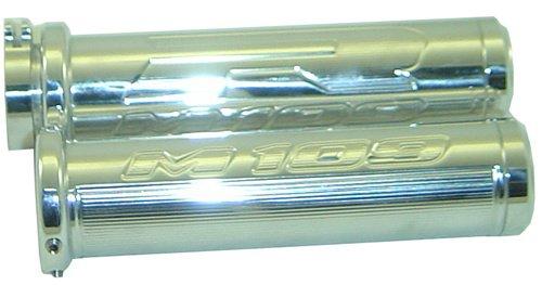 SUZUKI M109 Grips | Standard Style | chrome| Flat End |  | 2006-2011 | # A3202F