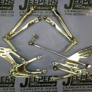 09-11 YAMAHA R1 CHROME REAR SETS